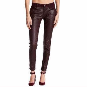 Levi's Faux Leather Super Skinny Jeans NWT 30